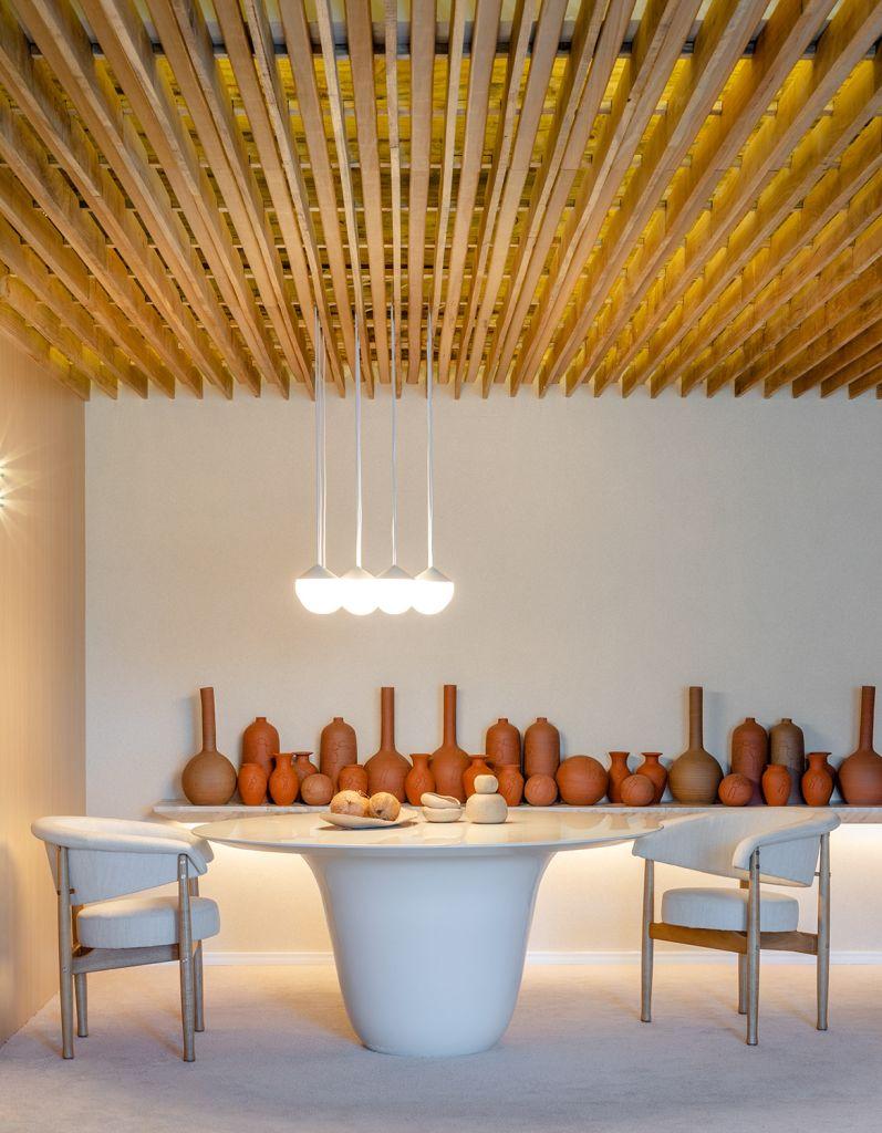 Quarto Suna Reveev - Osvaldo Segundo & Arquitetos Associados. Projeto da CASACOR Santa Catarina 2021.