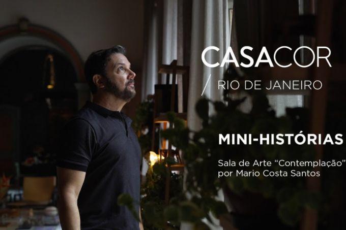 """Mini-histórias CASACOR Rio 30 anos: Sala de Arte """"Contemplação"""""""