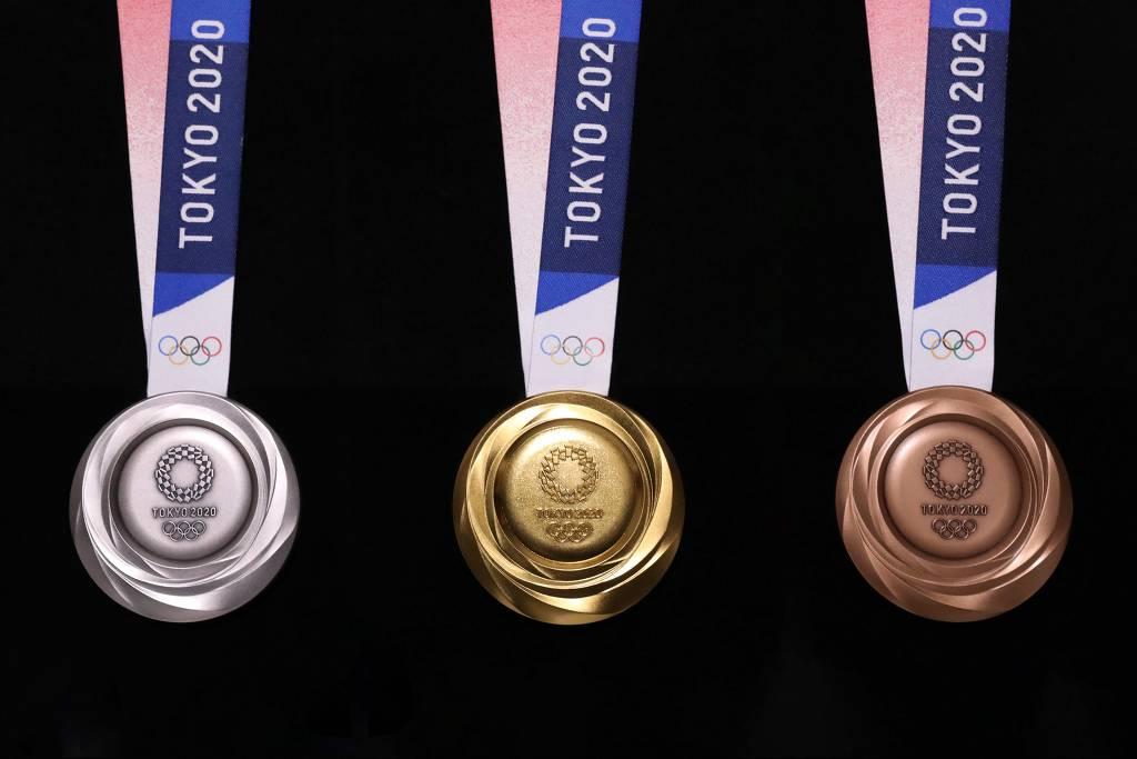Tóquio 2020: medalhas olímpicas serão feitas com metal reciclado