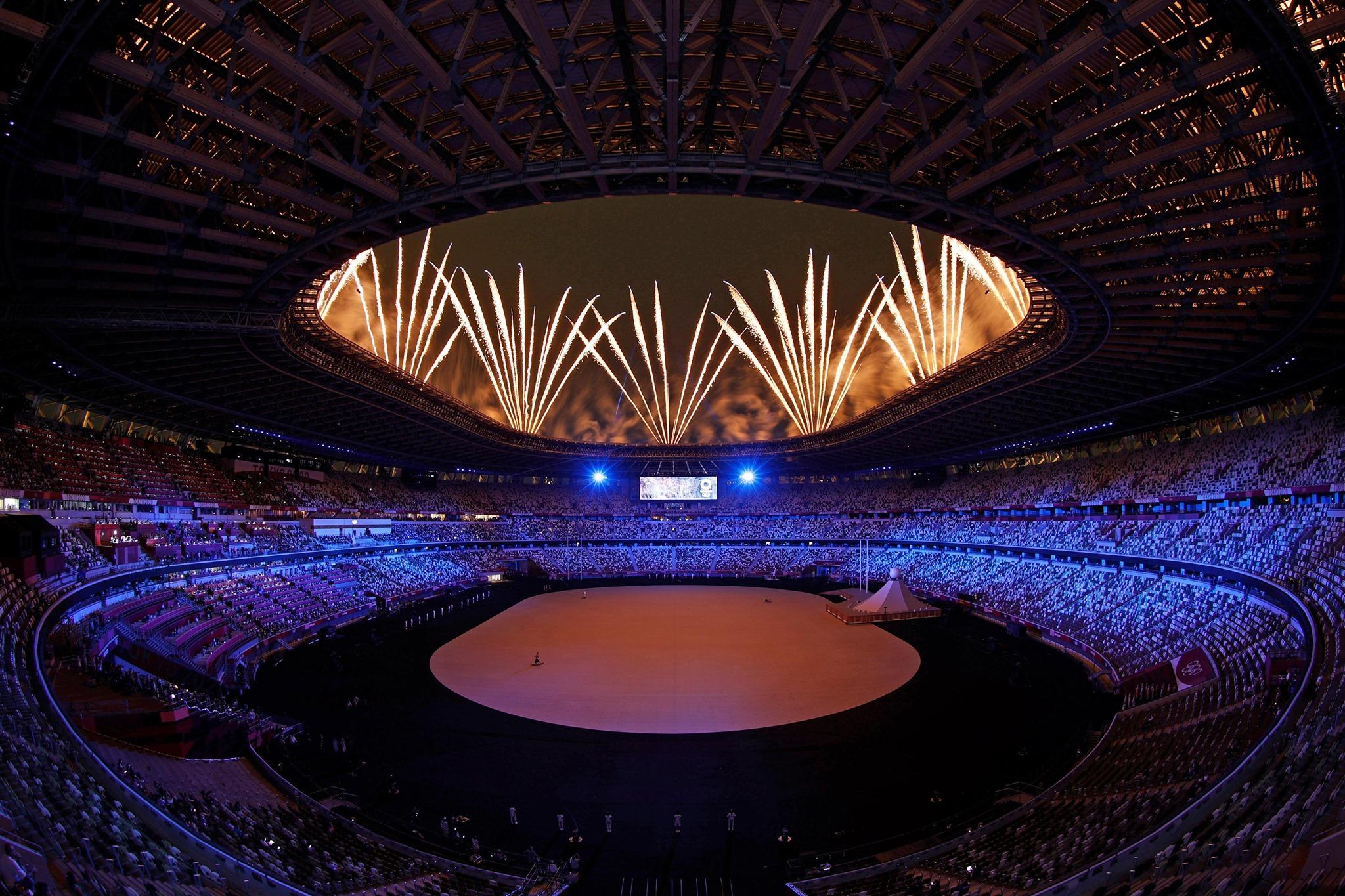 Olimpíadas tokyo tóquio japão estádio kengo kuma zaha hadid
