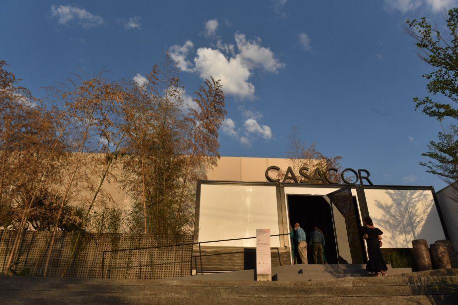 A fachada da CASACOR Goiás 2021, que acontece de 28 de agosto a 12 de outubro em área anexa ao Flamboyant Shopping.