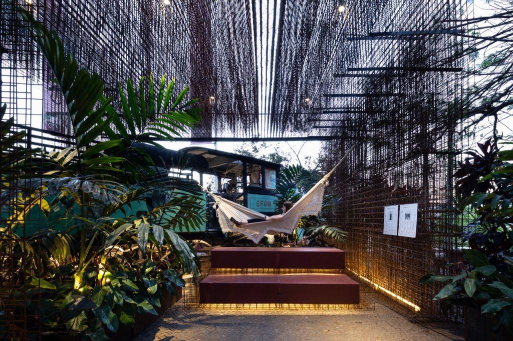 Pavilhão Nuvem - Arquitetos Associados. CASACOR Minas Gerais 2018