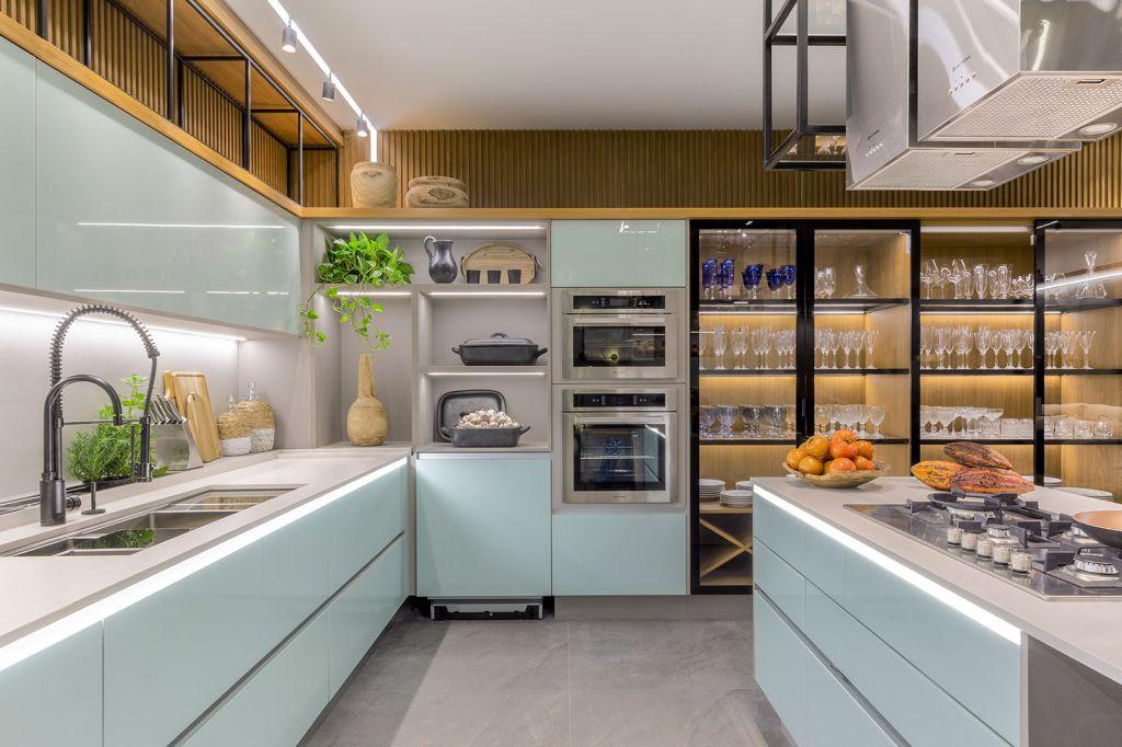 Cozinha 21 Rubiana Teixeira CASACOR Goiás 2021 decoração design marcenaria