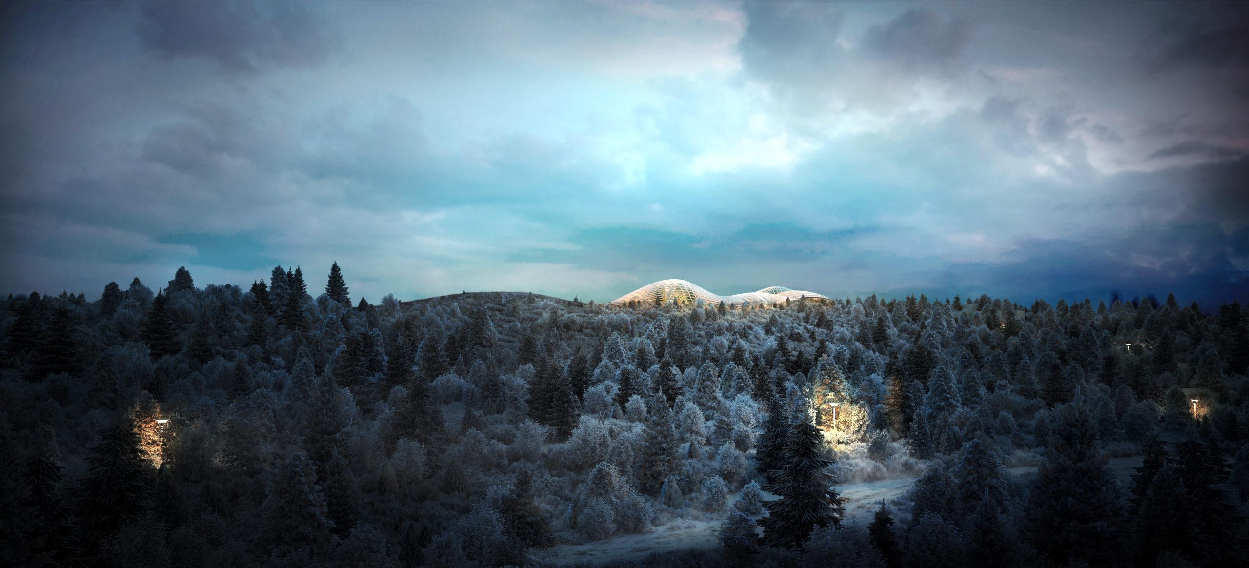 ALDIN Biodome Resort bioma islândia