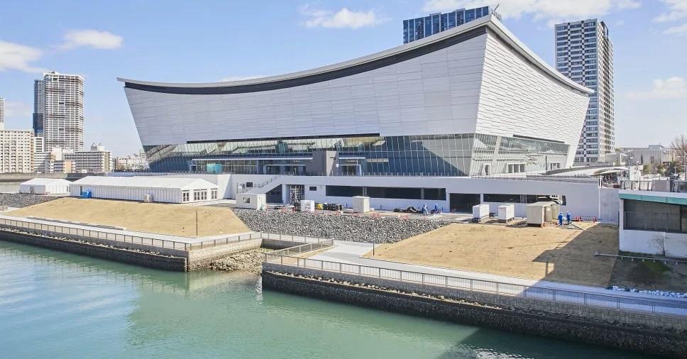Ariake Arena em Tokyo