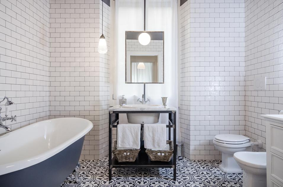 Banheiros clássicos decoração moderna