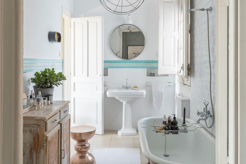 Banheiro clássico e elegante