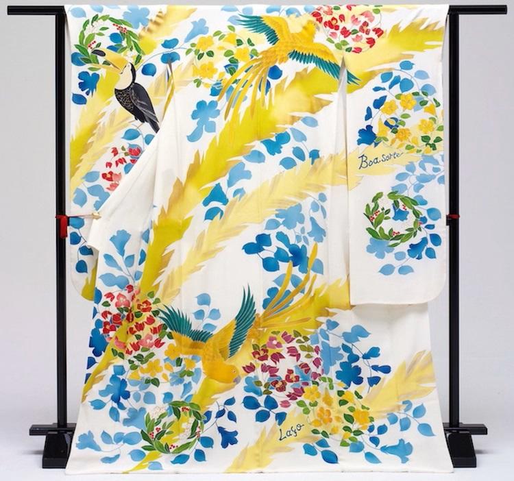 Japão cria quimonos com temas de todos os países do mundo