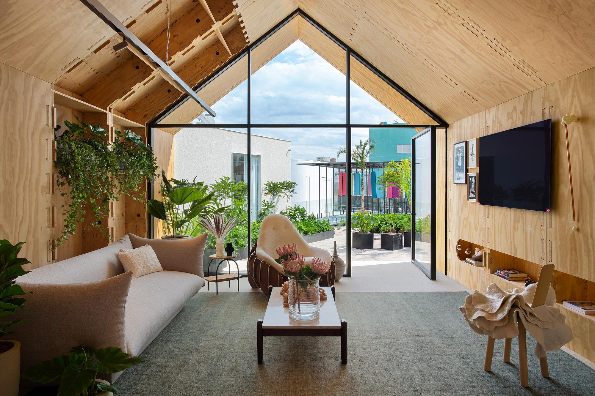 Estudio Guto Requena - Casa LG ThinQ, projeto da CASACOR São Paulo 2021.