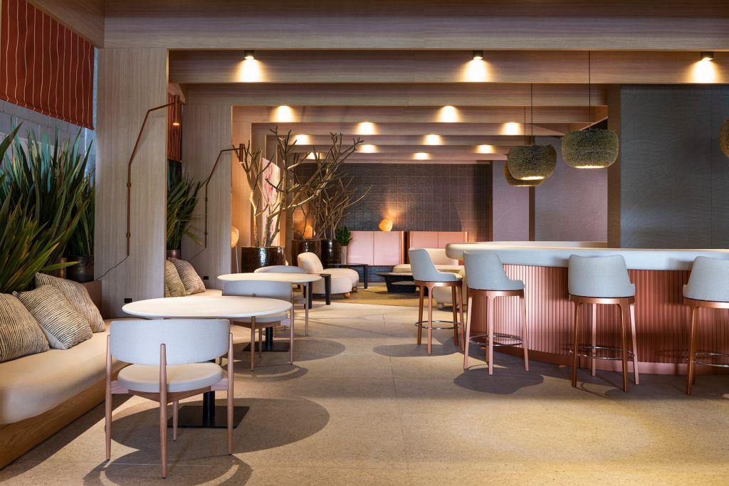 Tufi Mousse - Restaurante Terraço. projeto da CASACOR São Paulo 2021.