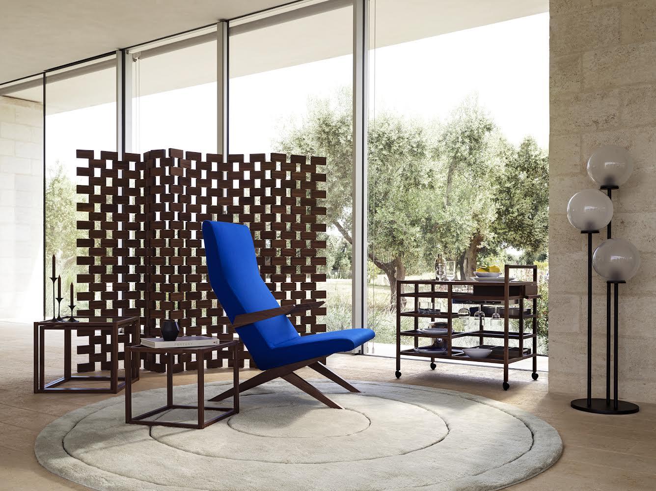 High back chair di Bodil Kjaer.