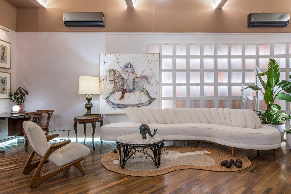 Luciana Paraiso Arquitetura - Livraria, projeto da CASACOR São Paulo 2021.