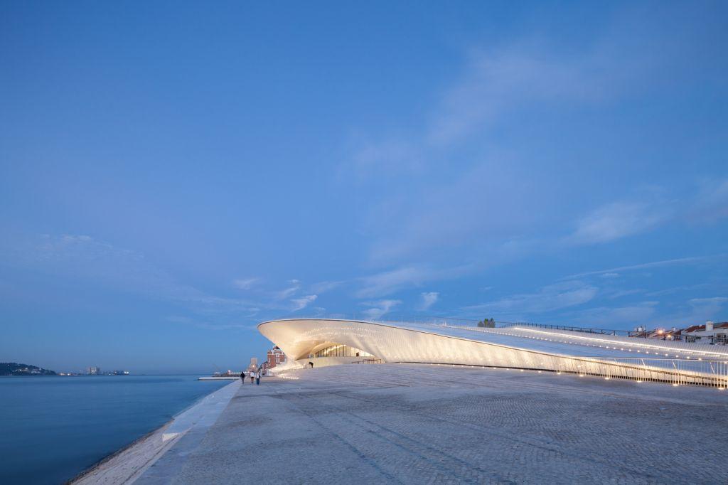 Amanda Levete; arquiteta; MAAT Lisboa