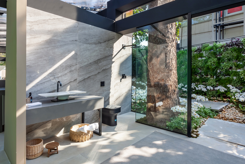 Casa Voktum Barbara Nobre CASACOR Minas Gerais 2021 jardim casa natureza decoração arquitetura