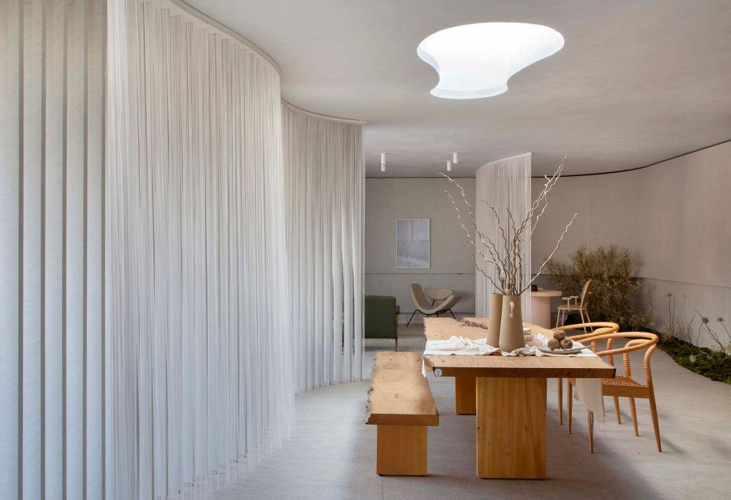 Melina Romano- Casa Alma Duratex, ambiente da CASACOR São Paulo 2021.