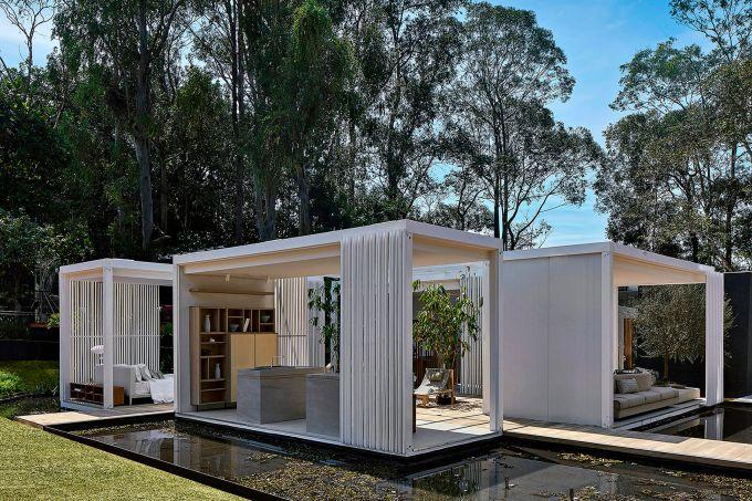 Cristina Menezes – Espelho D'Água e Mini Pavilhão