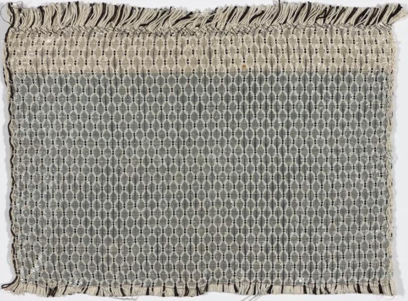 Gunta Stölzl, Amostra de tecido para cortina , c. 1927. © 2017 Artists Rights Society (ARS), Nova York / VG Bild-Kunst, Bonn.