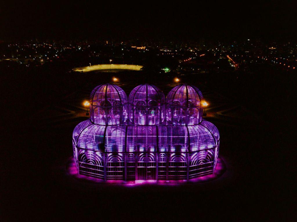 jardim botânico iluminação fibrose cística curitiba