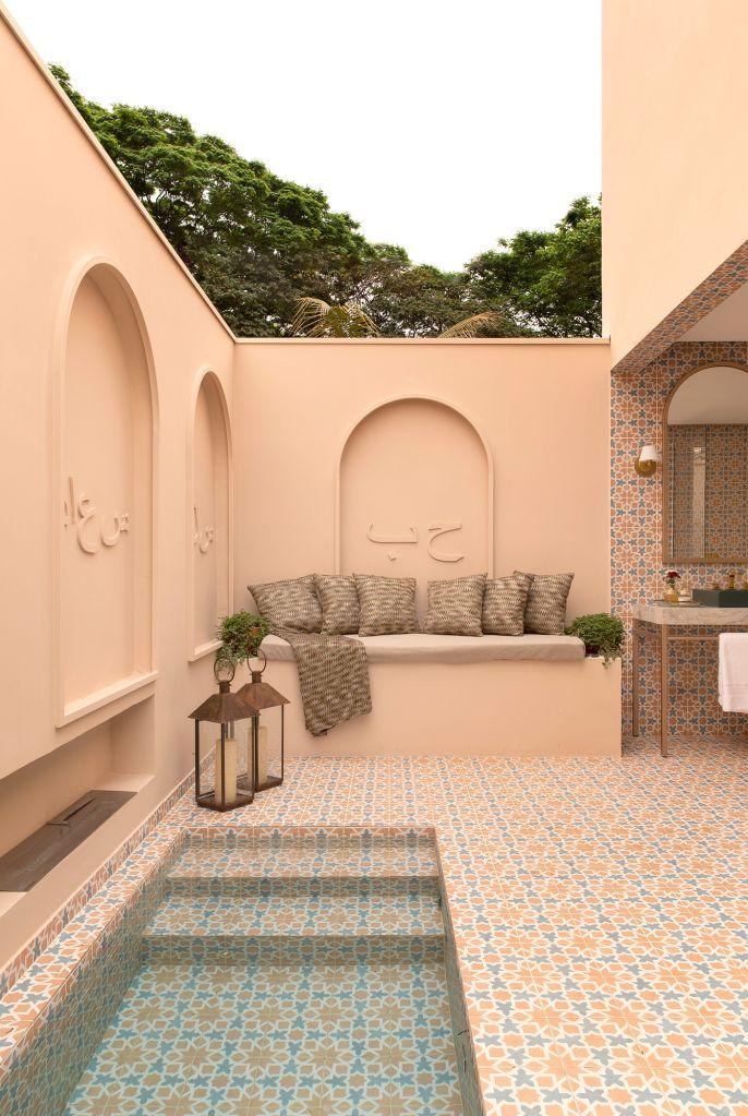 Rafael Bressan Arquitetura - SPA Marrakesh, projeto da CASACOR Ribeirão Preto 2021.
