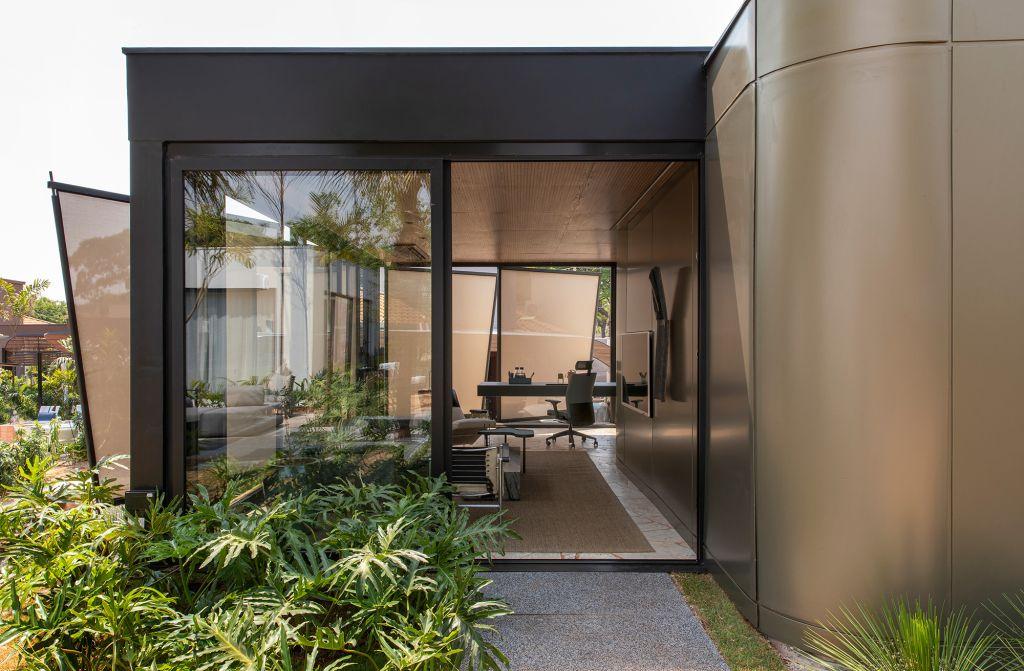 EFC Arquitetura - Espaço Soleil Home Office, projeto da CASACOR Ribeirão Preto 2021.
