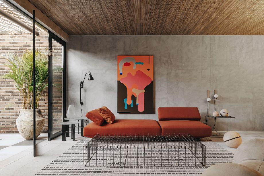 Architetonika Nomad - Lounge com Varanda.
