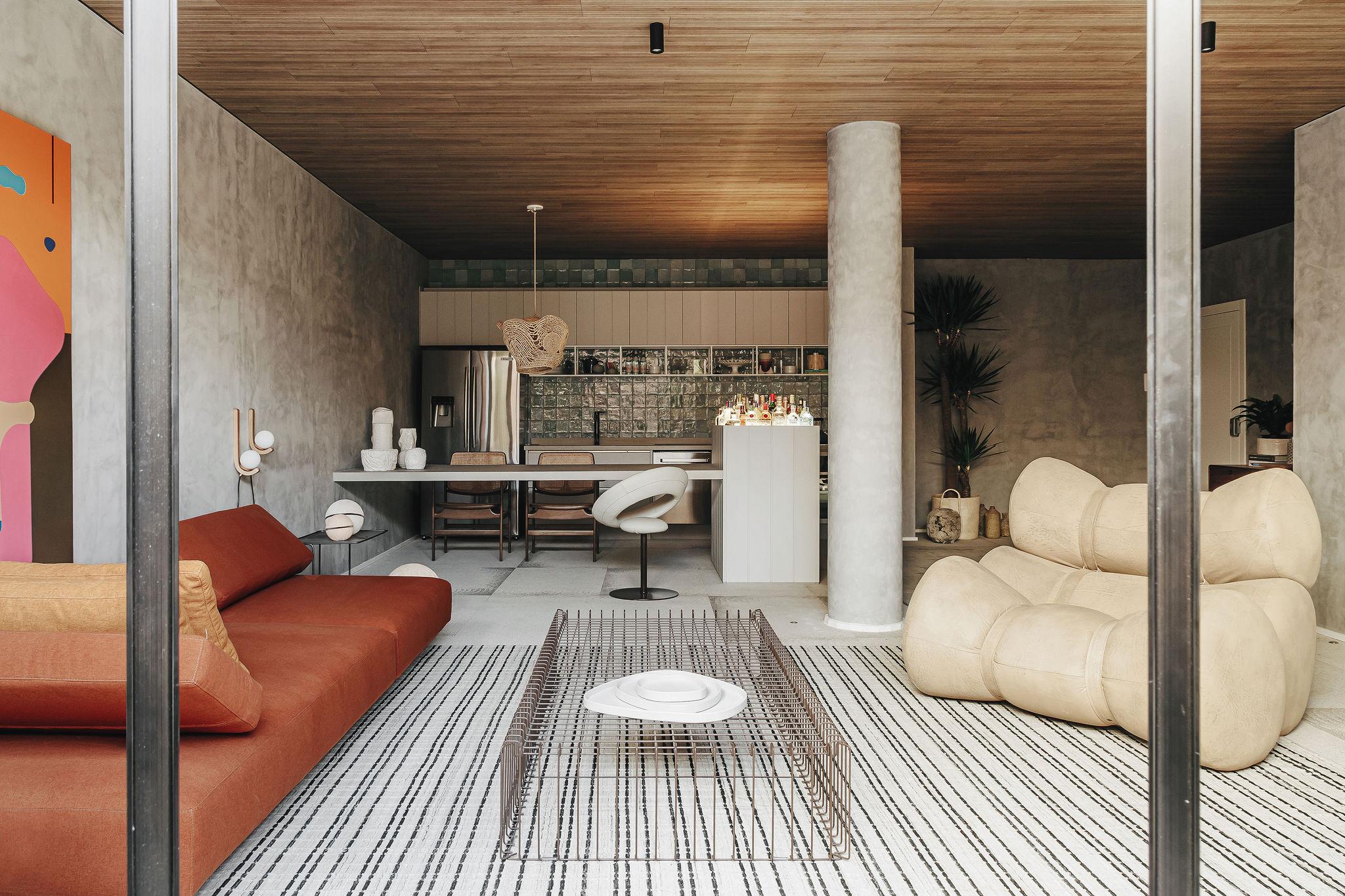 Architetonika Nomad casacor paraná 2021 loft com varanda