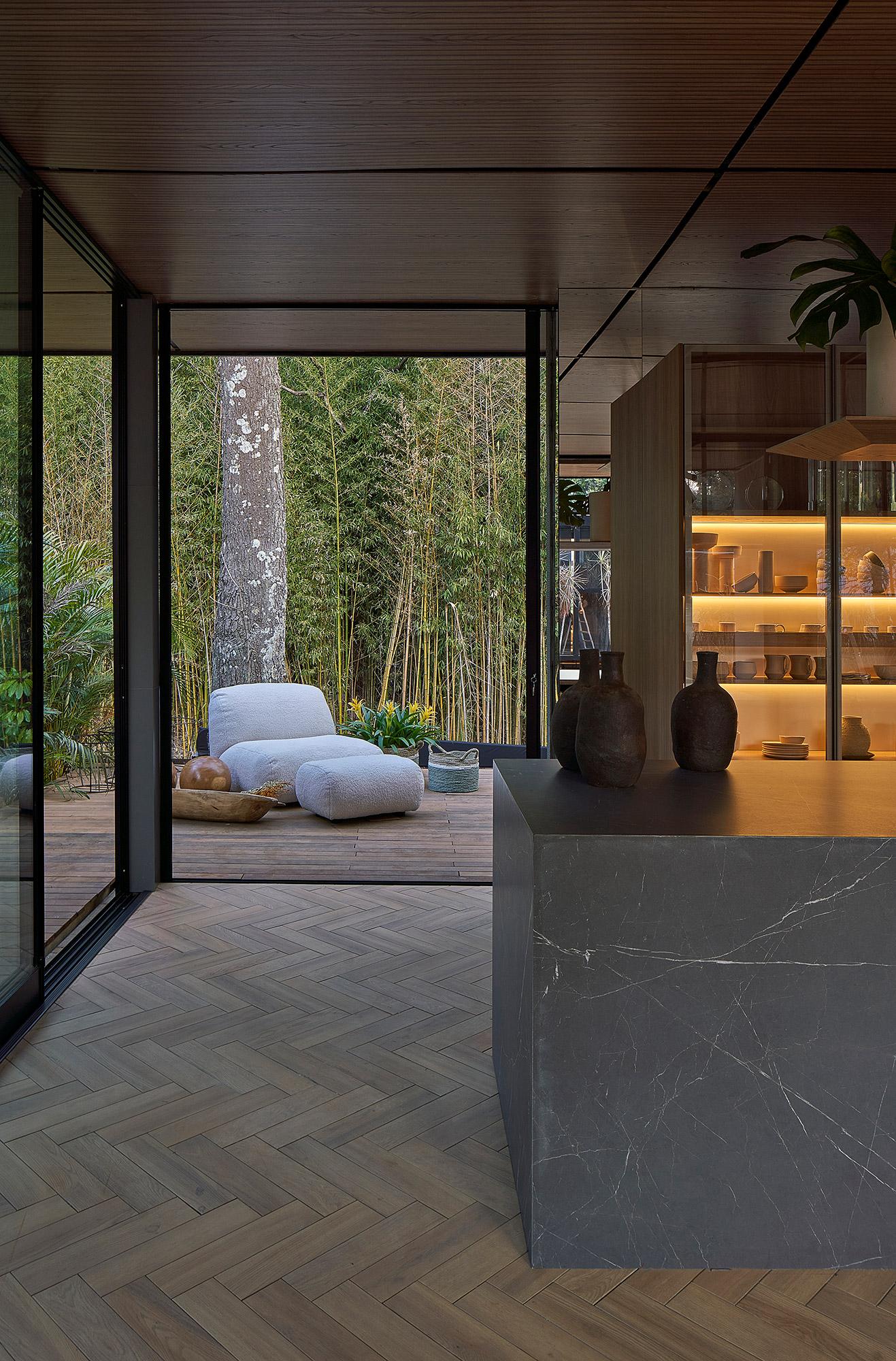 Gourmet dos Sentidos Deca Sérgio Vianna CASACOR Minas Gerais 2021 deca madeira casa decoração design