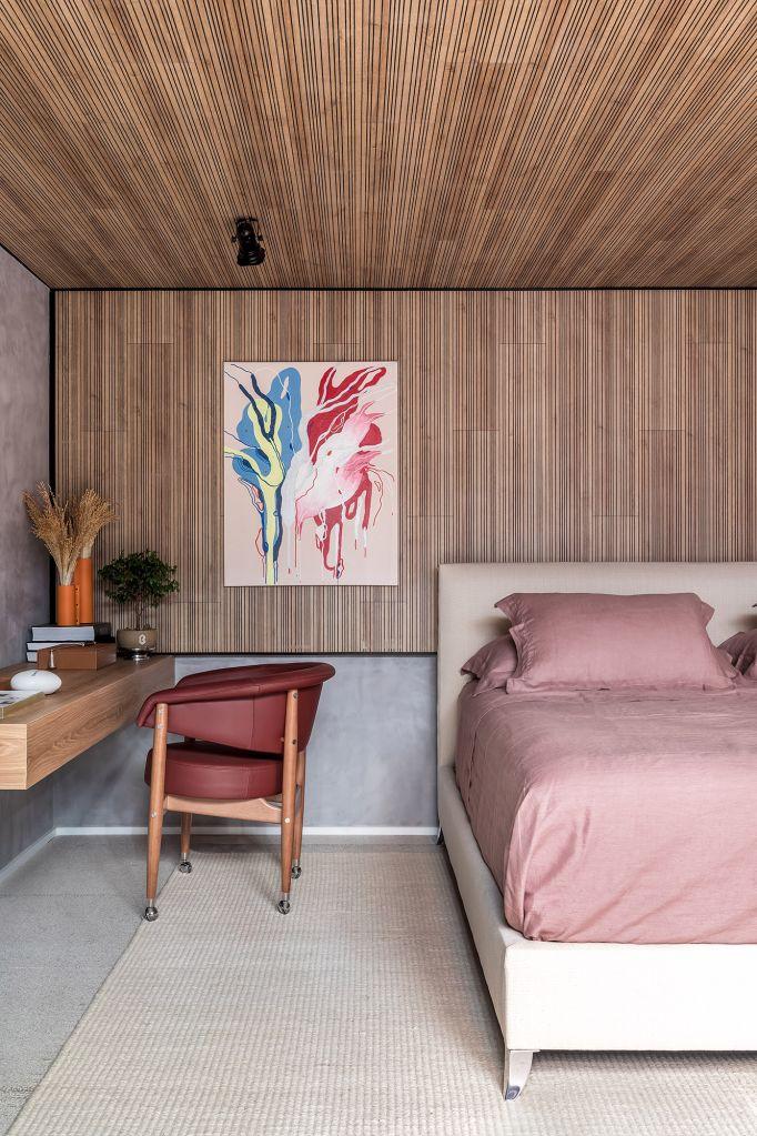Loft com Varanda Ary Polis Jacobs Bianca Moraes Renan Mutao CASACOR Paraná 2021 sala quarto madeira cozinha decoração design arquitetura