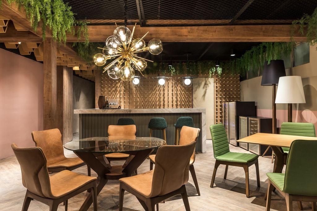 Resto Café Cynthia Karas CASACOR Paraná 2021 restaurante madeira design decor