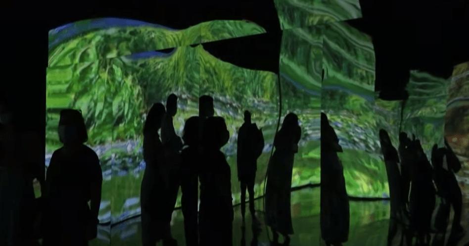 exposição de Claude Monet