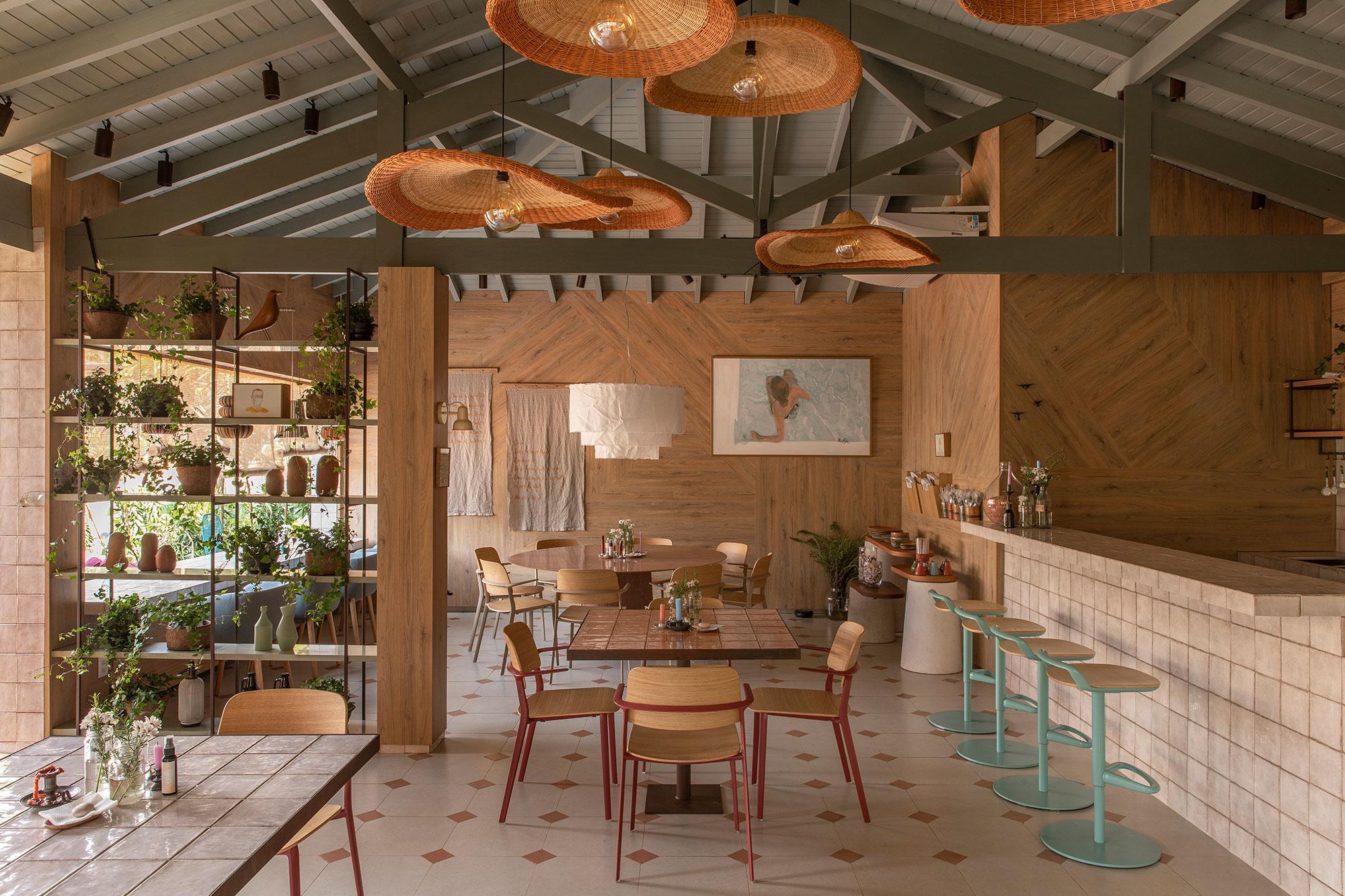 Restaurante Arauco, ambiente da CASACOR Ribeirão Preto 2021 por Cacau Ribeiro.