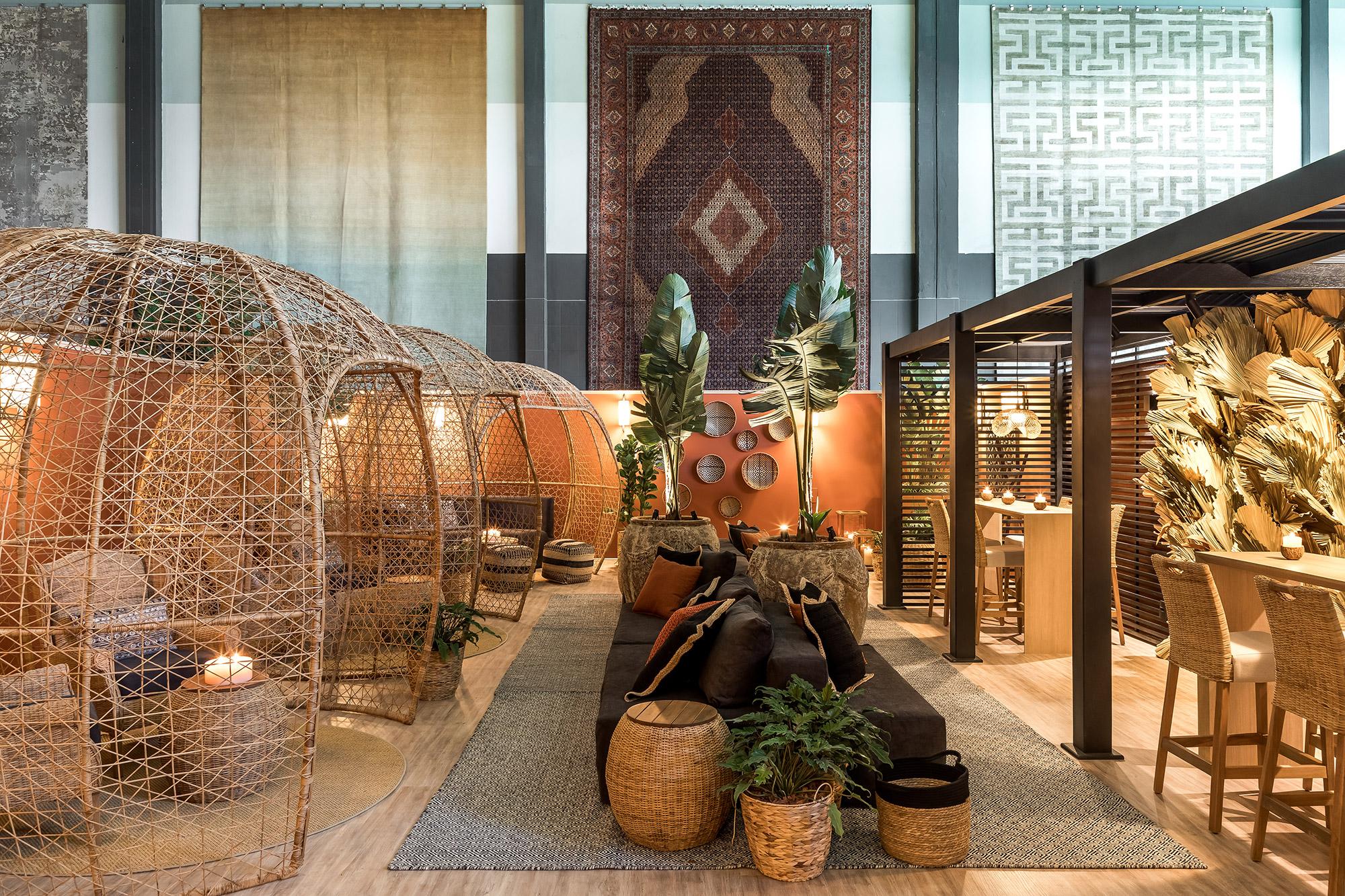 Lounge VIP Viviane Tabalipa CASACOR Paraná 2021 loft sala deco design artesanato