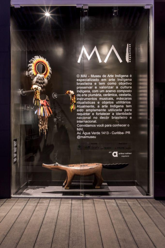 Museu de Arte Indígena; casacor paraná