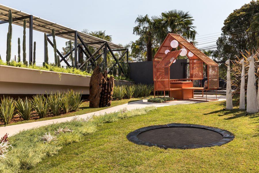 House é um espaço com design sustentável presente na CASACOR Paraná 2021