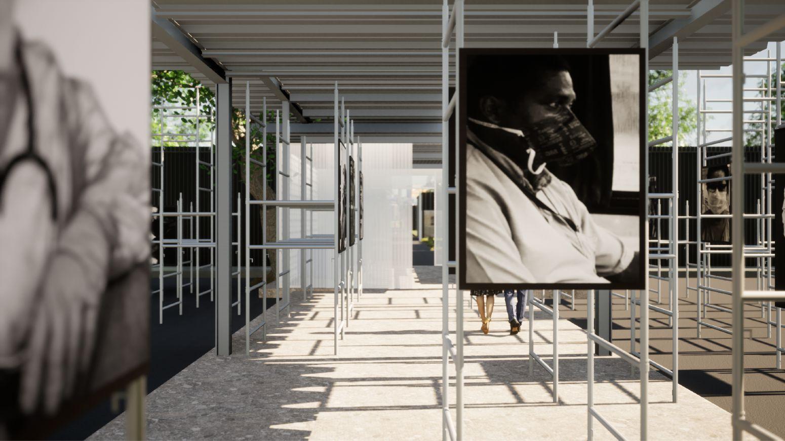 instalação casacor brasília 2021 homenageia profissionais na linha de frente da pandemia sainz arquitetura
